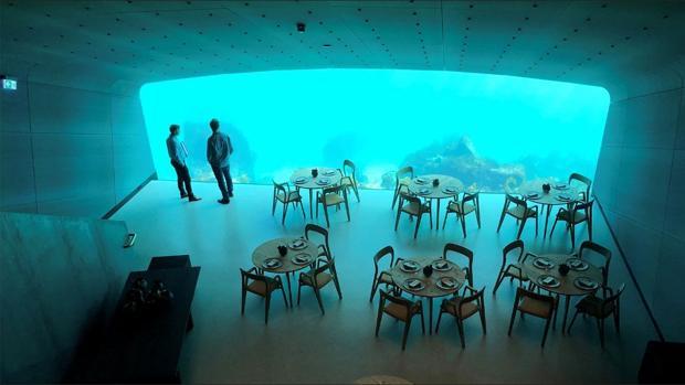 Restaurante Under, en Noruega
