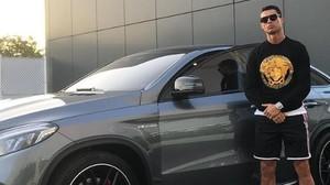 El nuevo coche de lujo de Cristiano Ronaldo