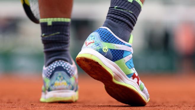 receta unidad veneno  Las zapatillas con las que Rafa Nadal ganó la final de Roland Garros