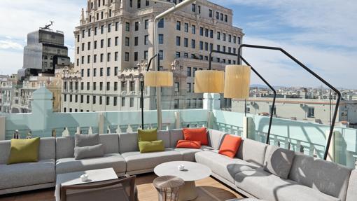 Las Mejores Terrazas De Madrid Están En Un Hotel