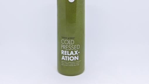 'Relaxation', uno de los zumos verdes de Honest Greens