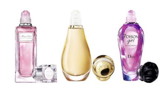 Fragancias de Dior en versión Roller-pearl