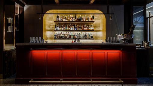 The bar at Saddle's Bar