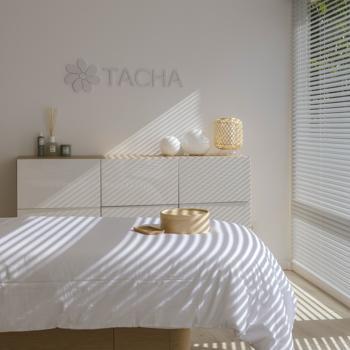 Una de las salas de Tacha en Marbella.