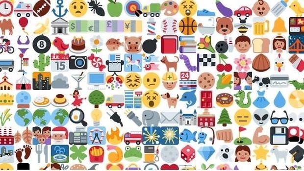 El menú que ofrece la página web para loxalizar vídeos con «emojis»