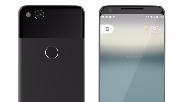 Detalle del nuevo Pixel 2 XL