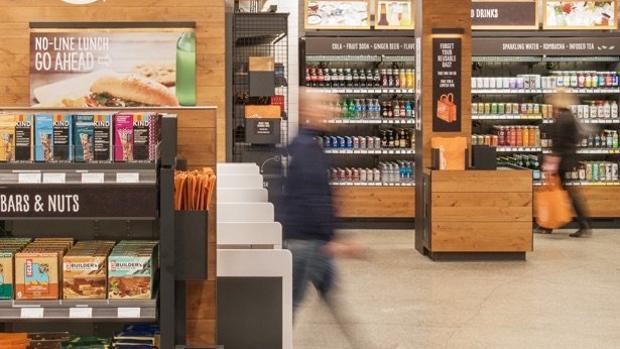La tienda Amazon Go no dispone de cajeros