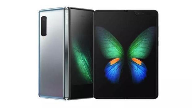 Detalle del Galaxy Fold, de Samsung