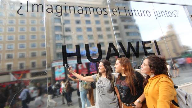 Huawei abrirá en Madrid su tienda más grande de Europa