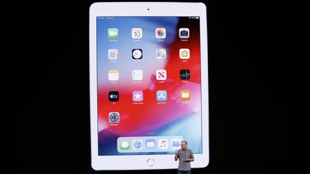 Detalle del nuevo iPad