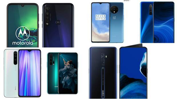 Los mejores «smartphones» para todos los bolsillos de 2019