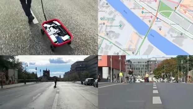 El hombre que «hackeó» Google Maps utilizando una carretilla y 99 teléfonos