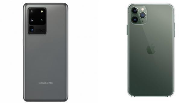 Comparativa entre el Samsung Galaxy S20 y el iPhone 11 Pro: ¿cuál es mejor?