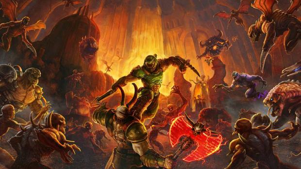 «Doom Eternal»: un «shooter» muy gamberro y absorbente