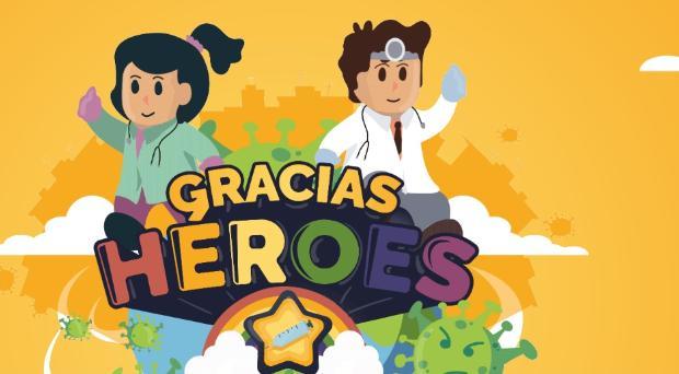 «Gracias Héroes», un simpático videojuego para concienciar  a los héroes de la bata en el coronavirus