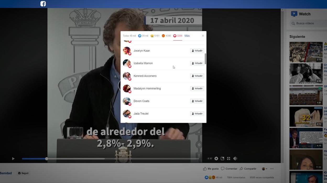 Una red de perfiles falsos en Facebook viraliza los mensajes del ...