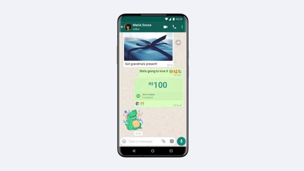 WhatsApp estrena los pagos móviles, aunque solo en Brasil