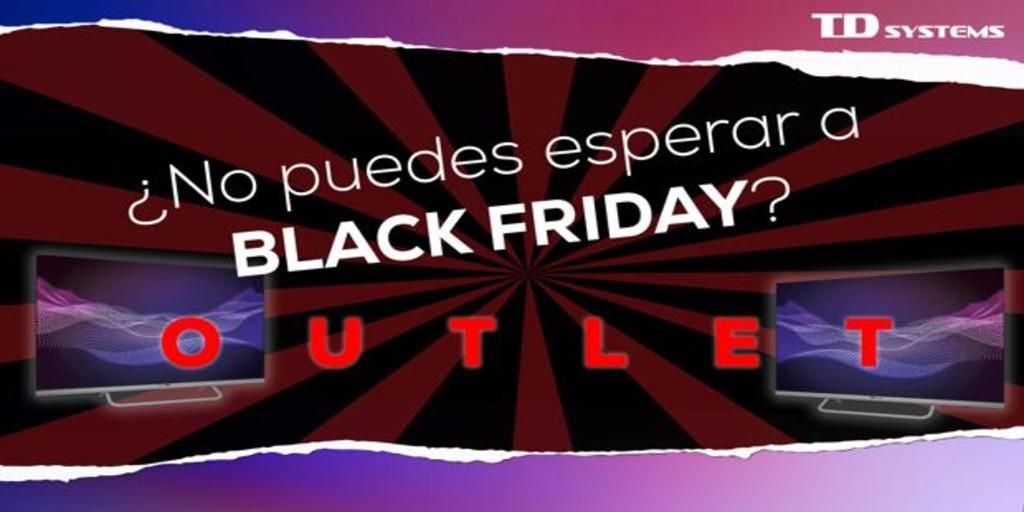 Black Friday adelantado en el outlet oficial de la marca de «Smart TV» española número 1