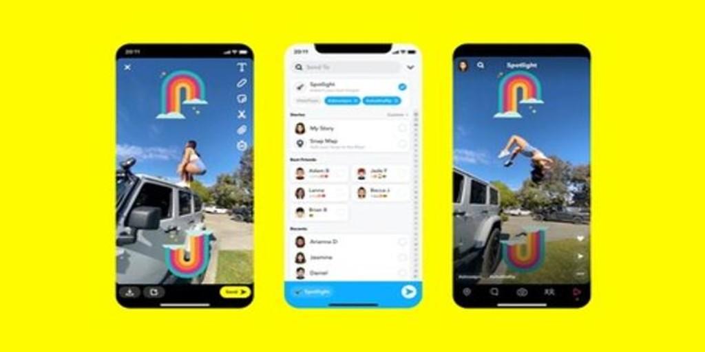 Snapchat comienza a pagar un millón de dólares a los usuarios para competir con TikTok