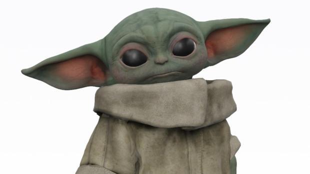 El truco para poner a Baby Yoda en 3D en el salón de tu casa