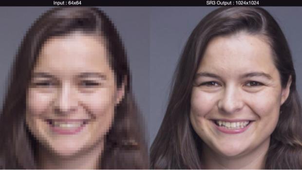 El nuevo truco de Google que convierte imágenes pixeladas en fotos de alta resolución