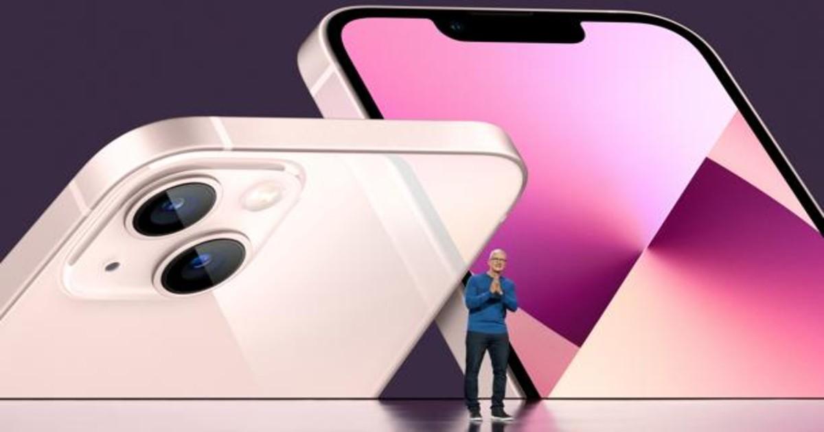 Nuevo iPhone 13, más cámaras, más procesador... y hasta 1 TB de memoria