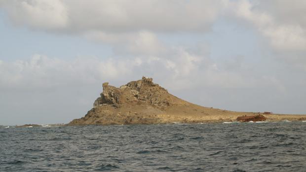 Fotografía de la Isla Salvaje Pequeña (Portugal) cedida por los autores de un documental sobre el deshabitado archipiélago de las Islas Salvajes