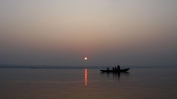 El Ganges siempre ha sido un río sagrado para los hindúes