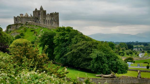 El Castillo de la Roca, en Cashel