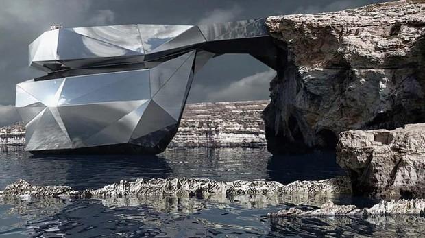 Imagen del proyecto del arquitecto ruso Svetozar Andreev