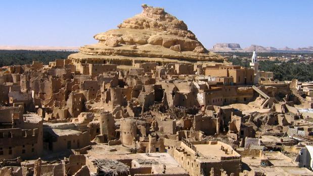 Siwa, en Egipto