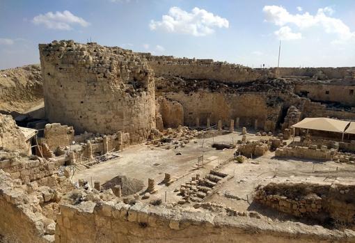 Interior del palacio de Herodes